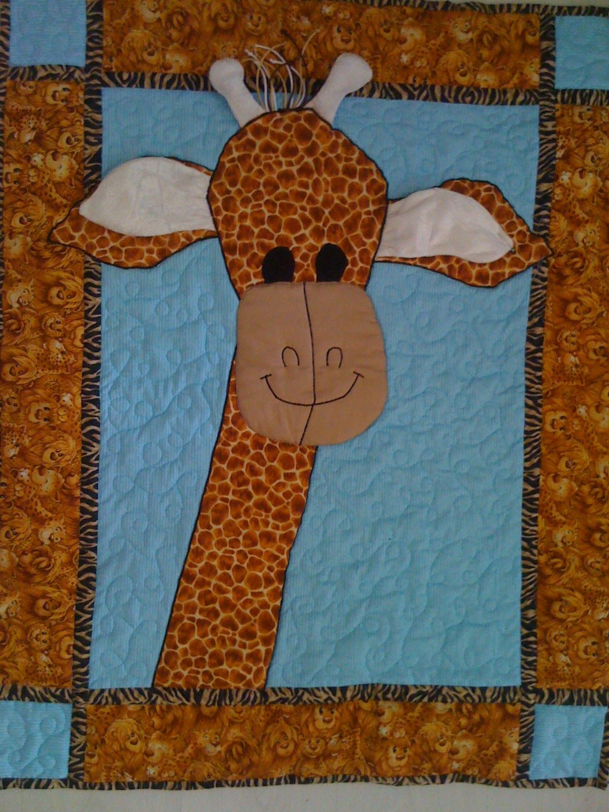 Maartje Quilt in Amsterdam: Free pattern: Giraffe baby quilt with ... : giraffe baby quilt pattern - Adamdwight.com