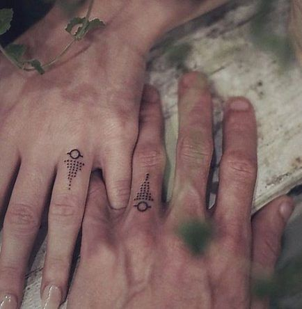 52 ideas tattoo matching couples creative ring finger -