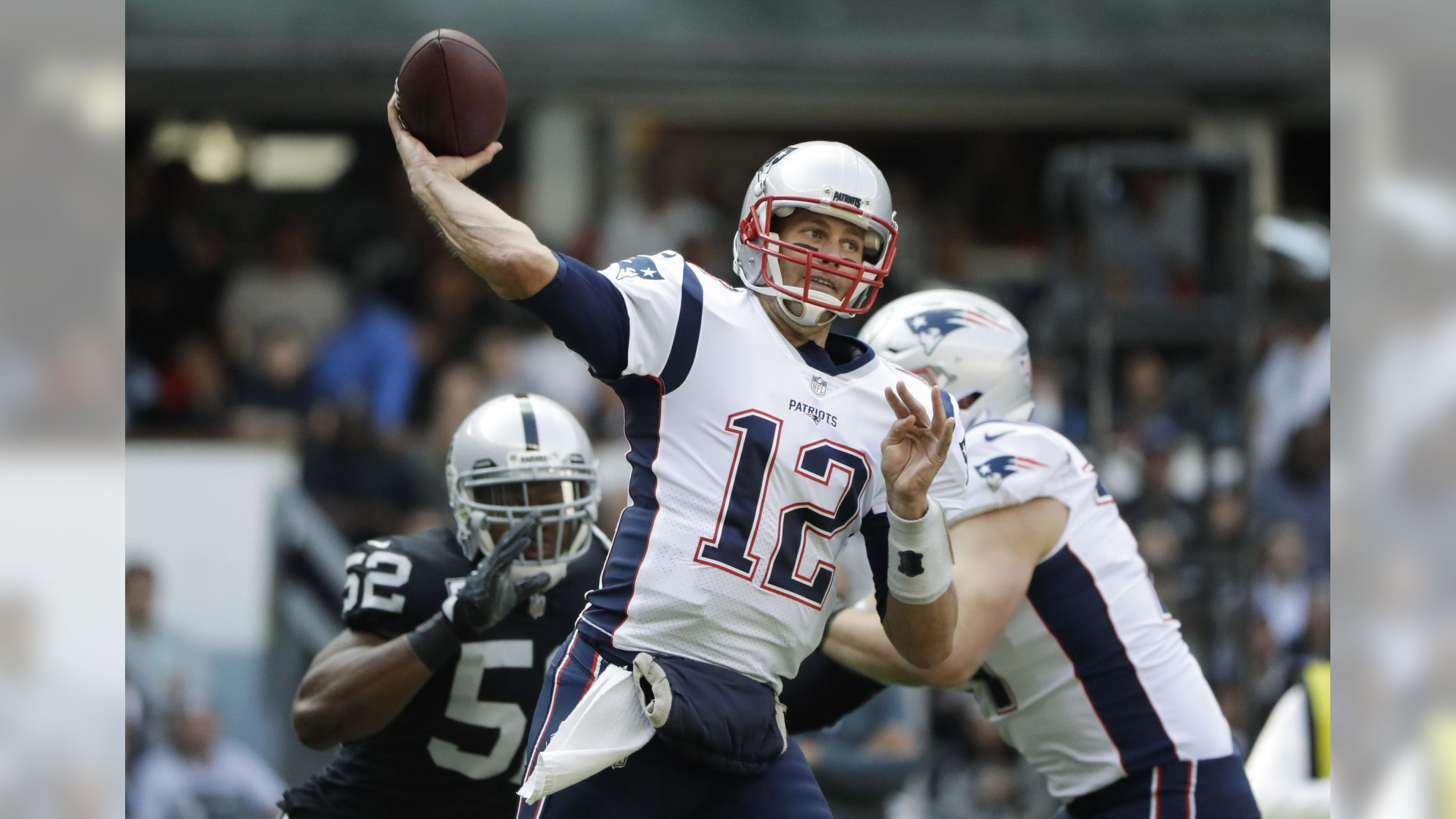 Patriots Vs Raiders Week 11 Nfl Today National Football League Nfl News