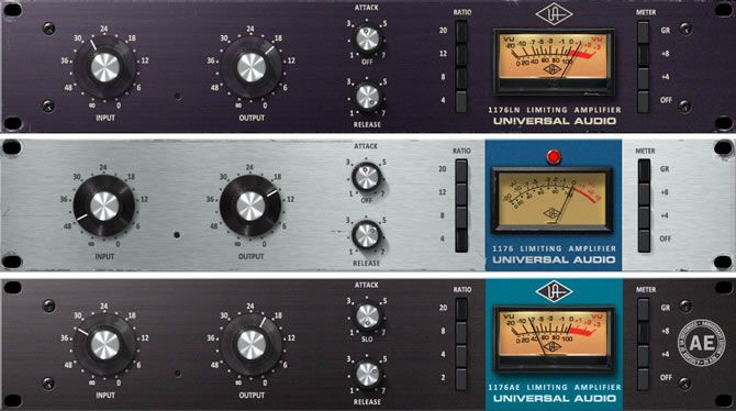 Universal Audio Ua Has Released The 1176 Classic Limiter Collection For The Uad 2 Powered Plug Ins Platform And New Apollo High Resolution Audio Interface Teck