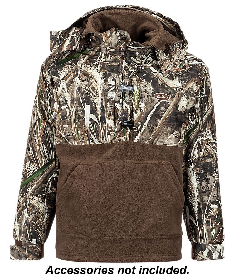 5867056fcdb4 Drake Waterfowl Systems MST Eqwader Deluxe 1 4-Zip Pullover for Men ...
