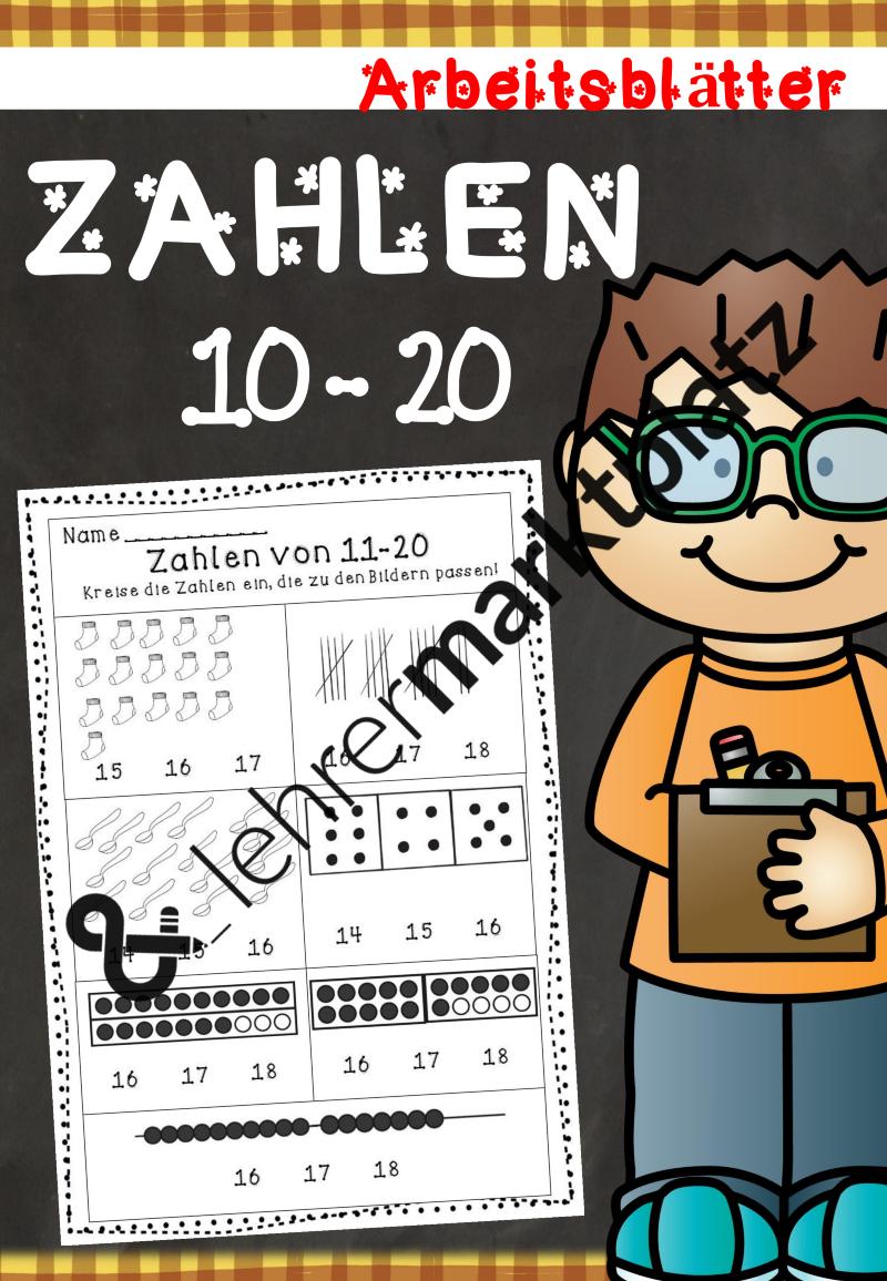 Mengen erfassen bis 20 - Arbeitsblätter | Mathe in der Grundschule ...