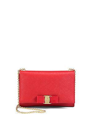 e65e20f090a7 Salvatore Ferragamo Miss Vara Mini Saffiano Leather Bow Bag  br ...