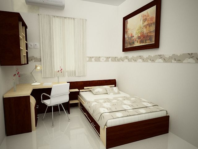 Best Design Of Small Size Main Bedrooms With Minimalist 400 x 300