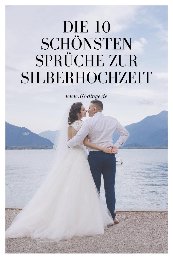 Die 10 Schonsten Spruche Zur Silberhochzeit Silberhochzeit Spruch Silberhochzeit Silberne Hochzeit