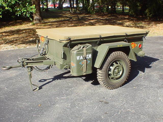 Pin By Kirk Robinson On Trailers Jeep Trailer Military Jeep