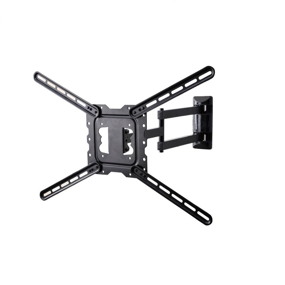 Full motion tv wall mount fits 19 inch 46 inch wall