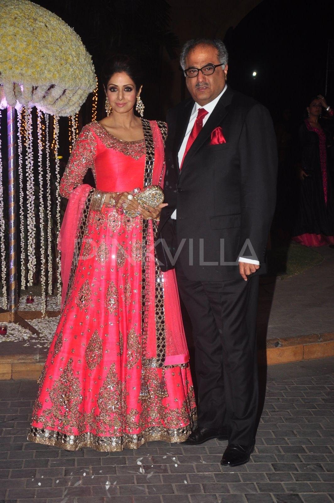 Sridevi and Juhi Chawla at Rriddhi Malhotra's wedding