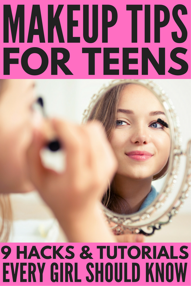 natural beauty tips for teenagers - Makeup Tips for Teens: 9 Beauty Tips Every Girl Should Know | Make ...