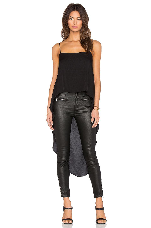 MILLY Cascade Stretch Silk Cami. #milly #cloth #dress #top #shirt #pant #coat #jecket #jacket #shorts #ski