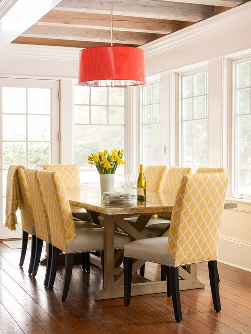 Idée de décoration pour une grande salle à manger ouverte sur le - idee de deco salle a manger