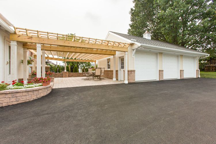 A new detached garage or garage addition is a great place for 2 car garage addition plans