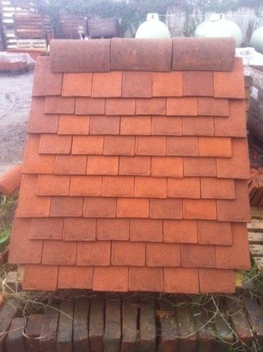 Hand Made Clay Kent Peg Tiles Ebay Clay Roof Tiles Clay Roofs Cedar Homes