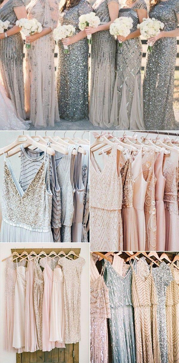 trending mismatched sequins bridesmaid dresses #emmalovesweddings #weddingideas2019    Source by kpw11b #bridesmaid #bridesmaid dresses ideas #Dresses #EmmaLovesWeddings #Sequins #Shades #Sparkle #TOP