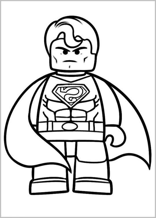 Ausmalbilder Spiderman Lego: Lego Ausmalbilder Kostenlos 806 Malvorlage Lego