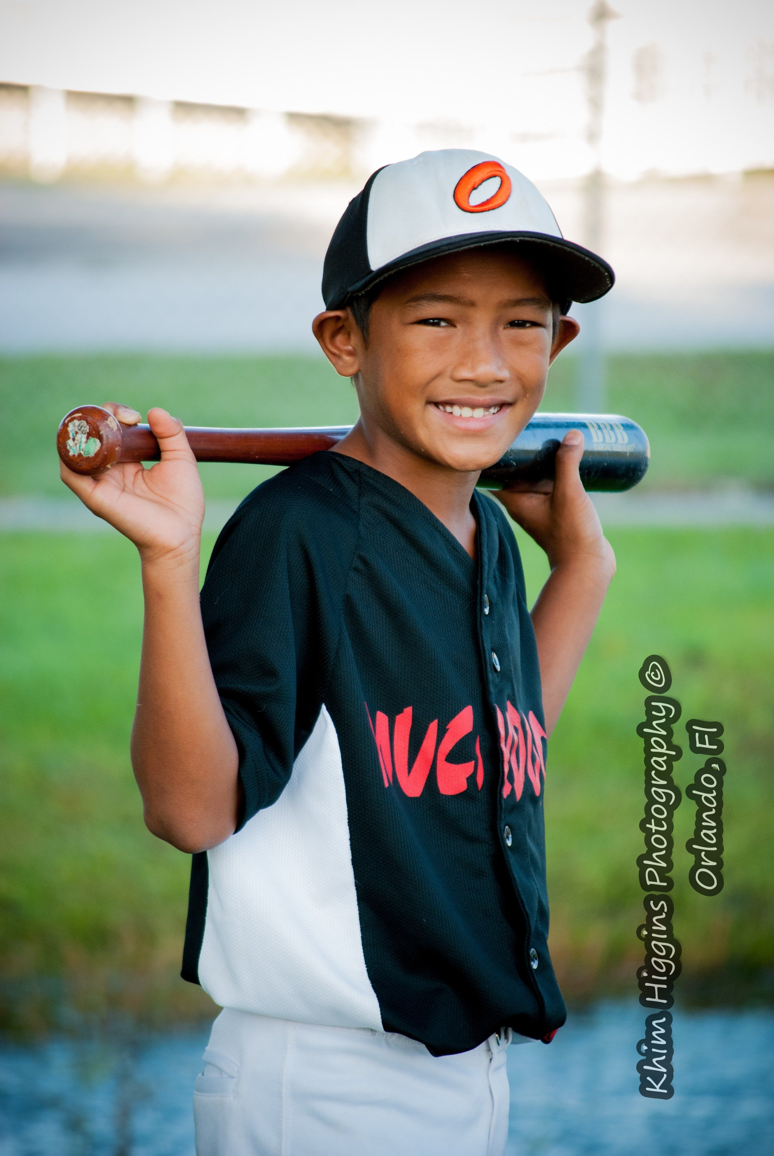 A Classic Baseball Pose By Khim Higgins Photography Orlando Fl
