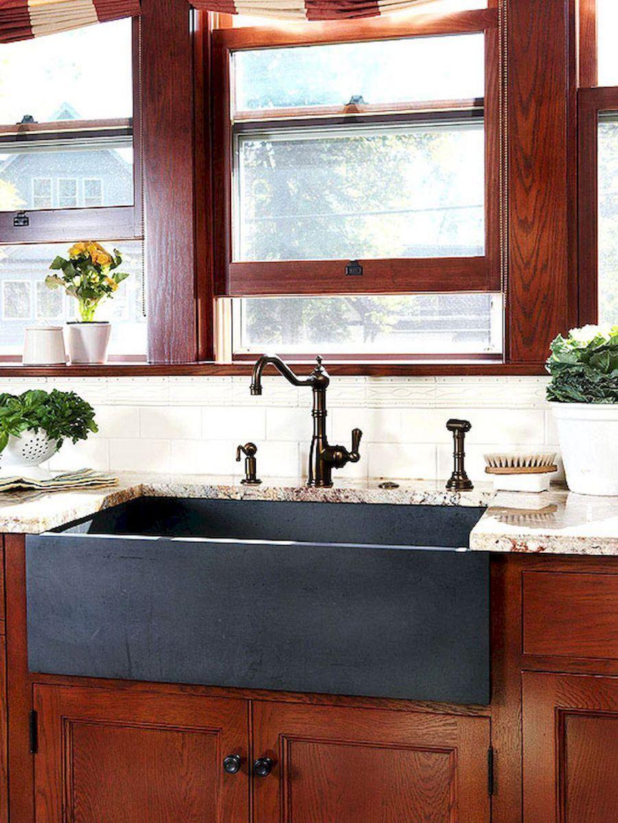 Modern farmhouse kitchen sink 50 ideas Farmhouse sink