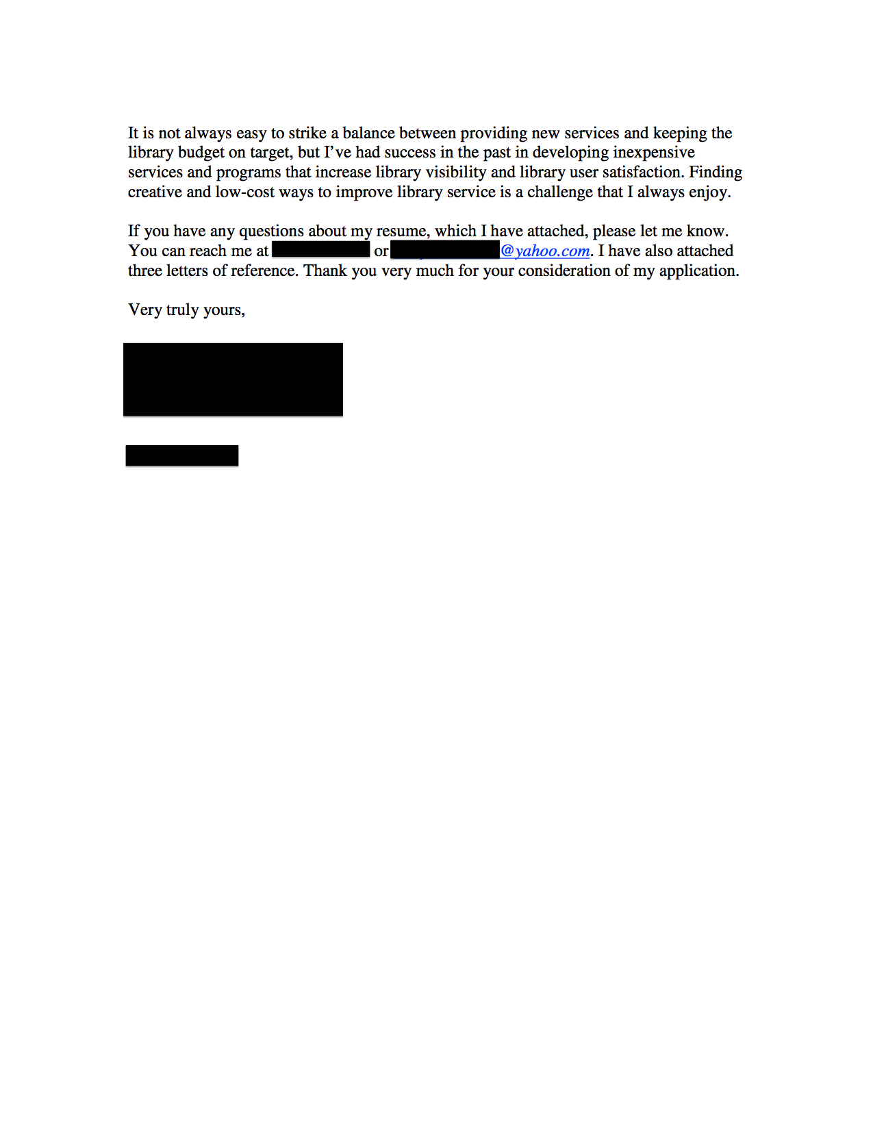 Public Library Director Cover Letter Open Cover Letters
