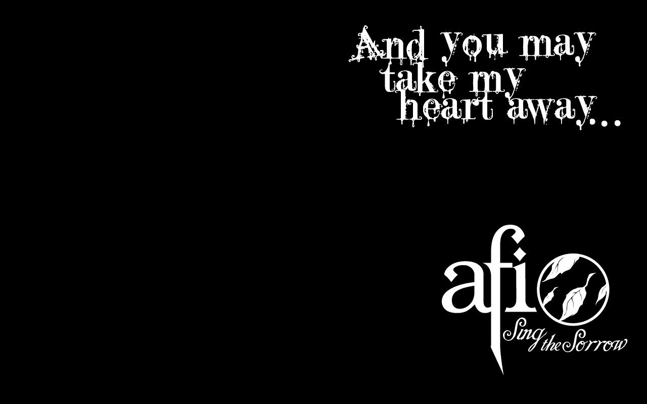 Afi Song Quotes Afi The Leaving Song Pt 2 Sing The Sorrow