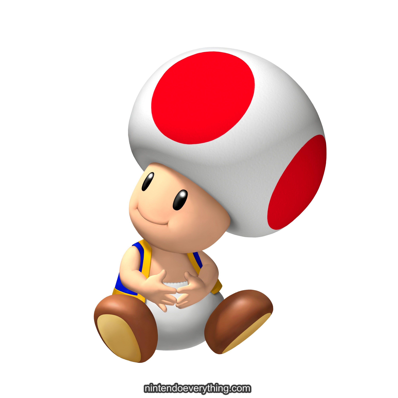 Toad Mario Party Island Tour Art Super Mario Galaxy Mario