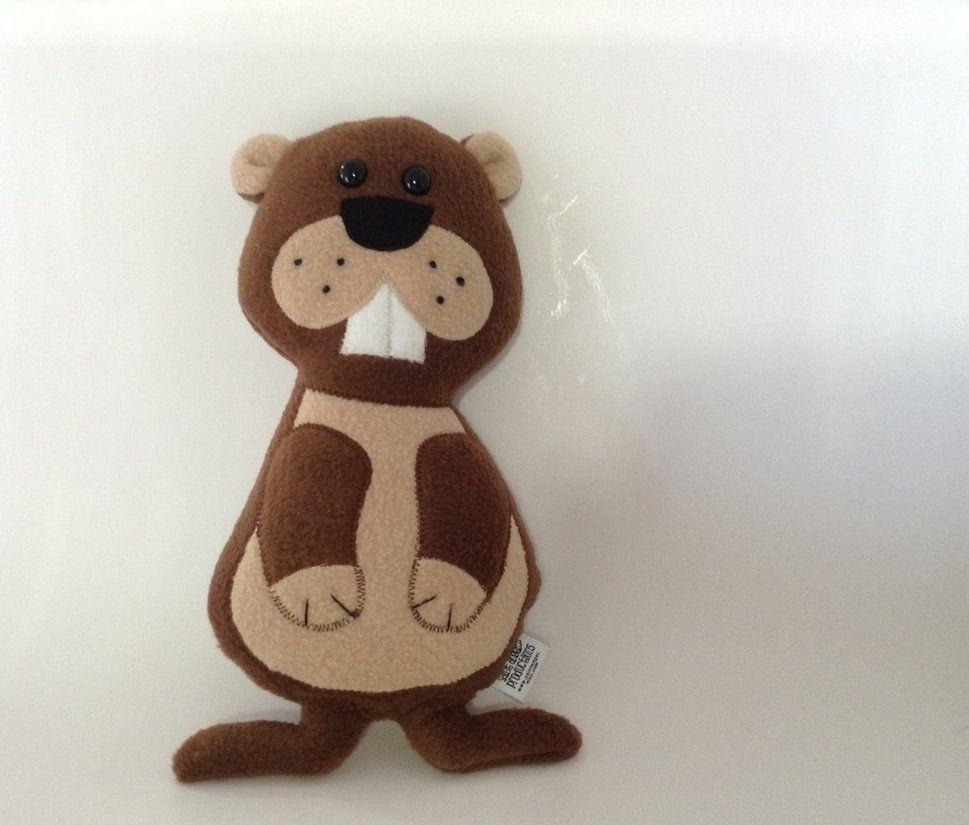 Stuffed Groundhog Animal Plush by Saint-Angel