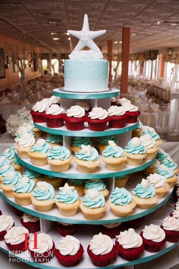 Beach Wedding Cupcakes Captiva Island Florida Heathererson Heather Erson Photography
