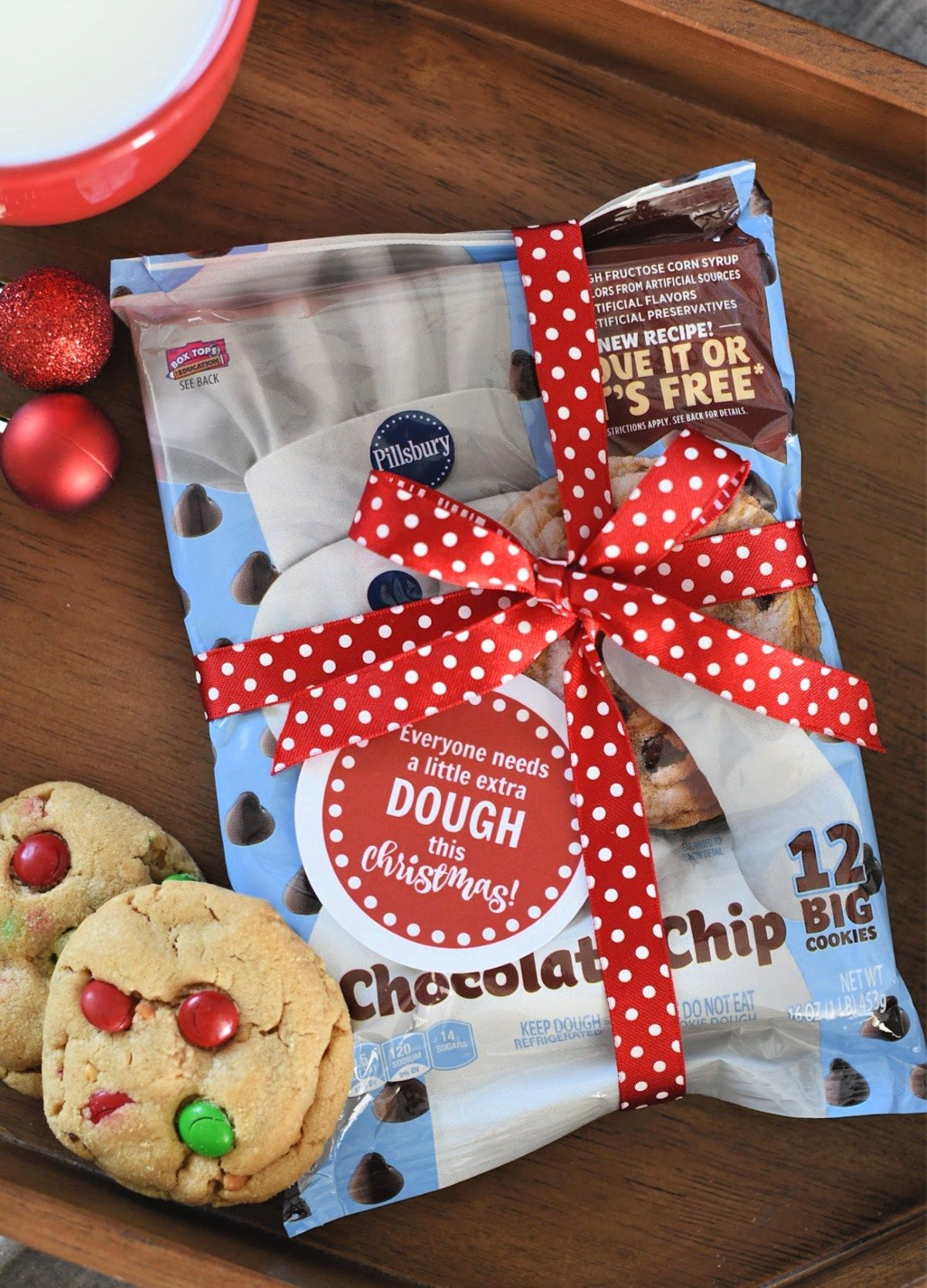 Simple Cookie Dough Christmas Gift Idea – Fun-Squared