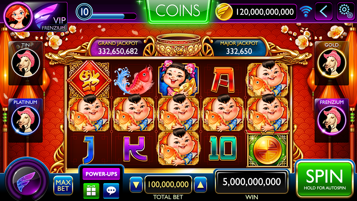 Slot Game Design on Behance | Game design, Slots games, Slot