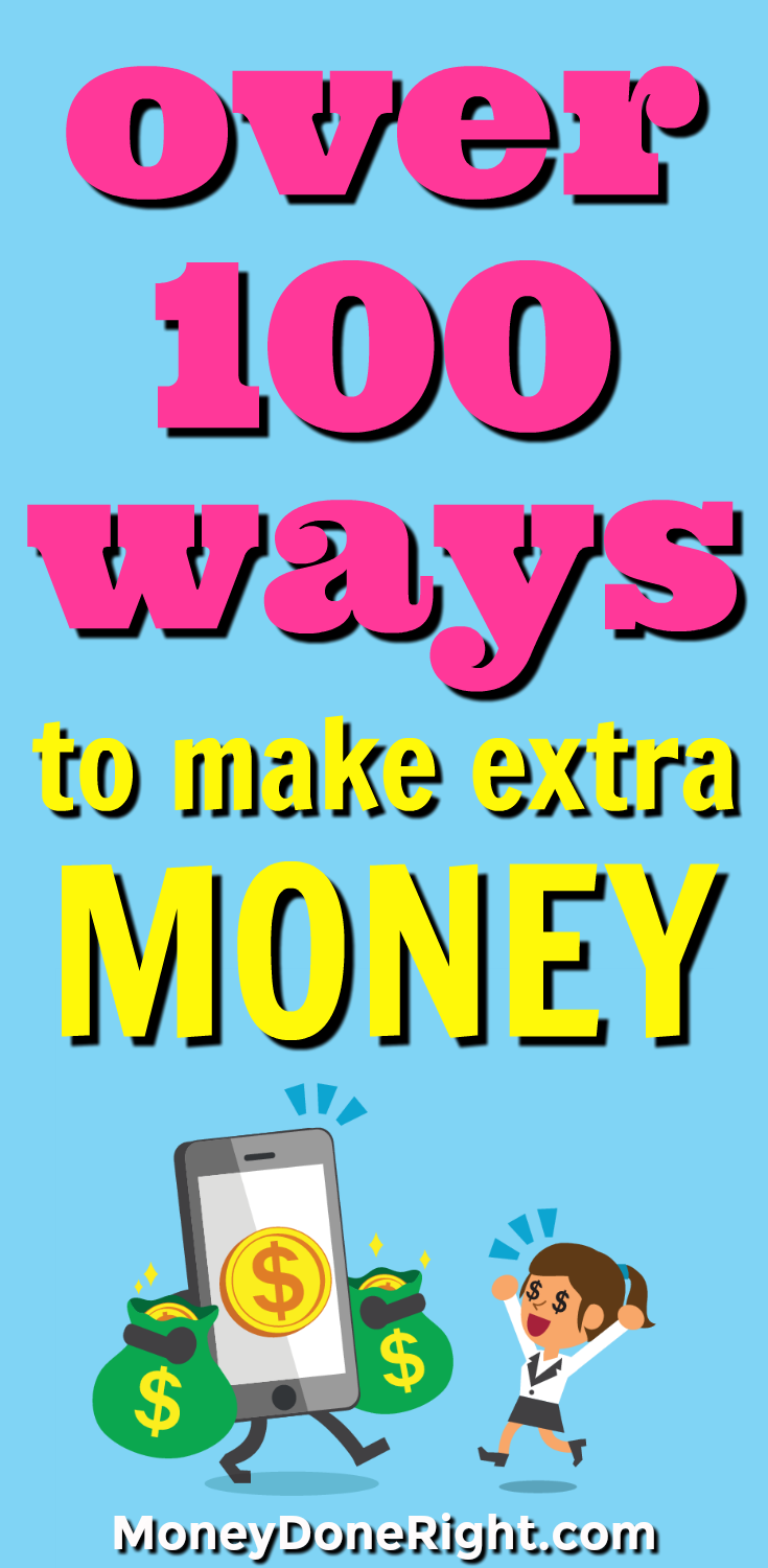 How to Make Money Fast: 100+ Easy Ways to Make $100 or More