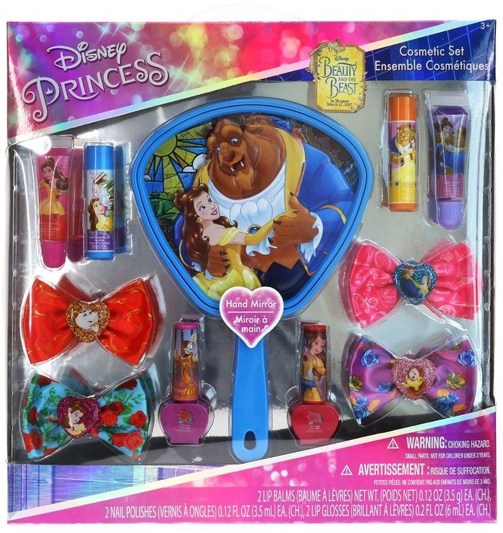 Townley Girl Disney Princess Cosmetic Set with Mirror