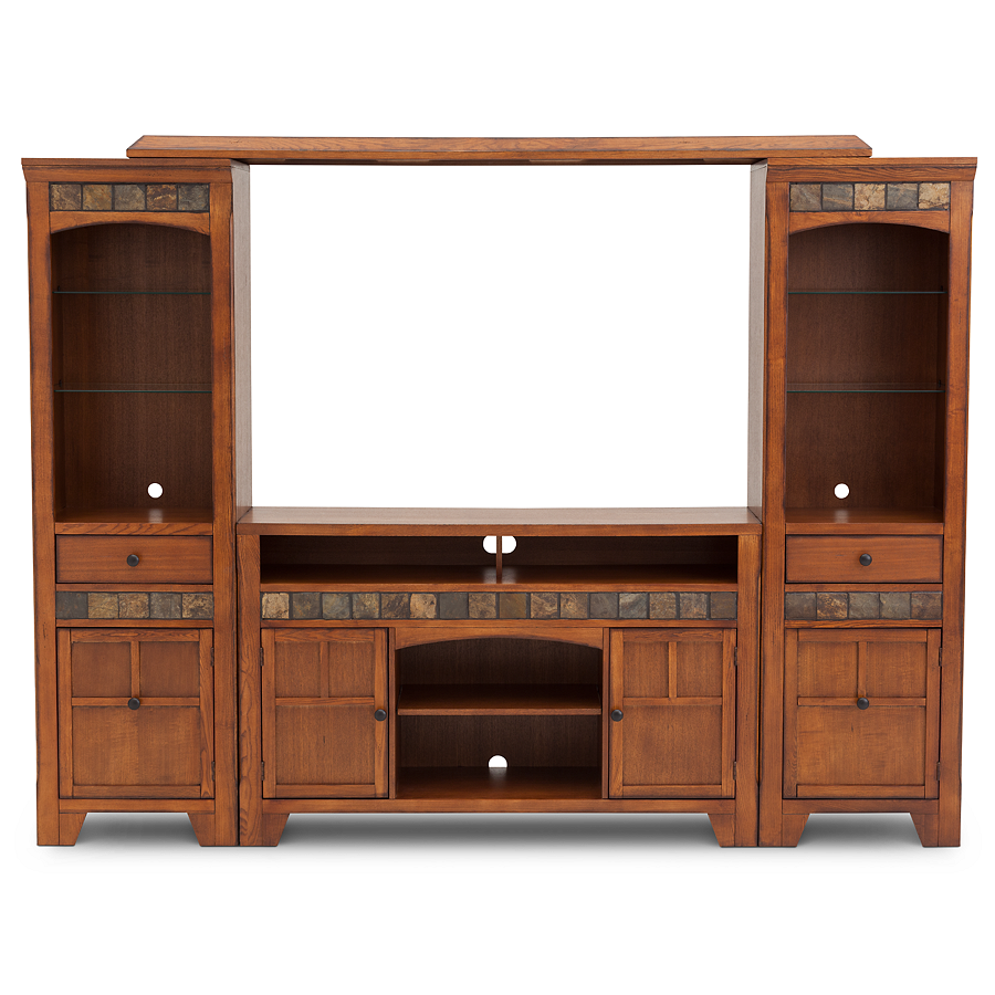 New Aspen 4 Pc. Home Theater Wall