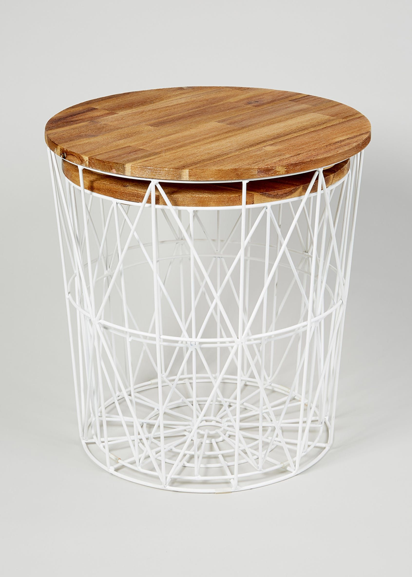super popular 4a984 4010e Jaxson Nesting Side Table (H48cm x W45cm) – Natural   House ...