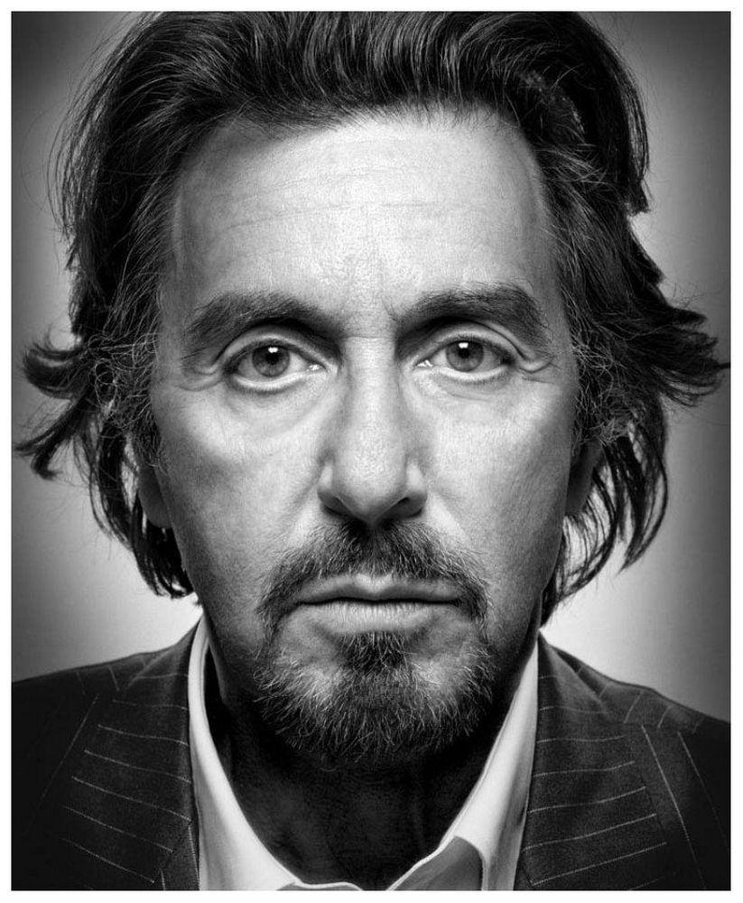 Al Pacino by Platon Antoniou | Photo: Portrait (B&W ... Al Pacino