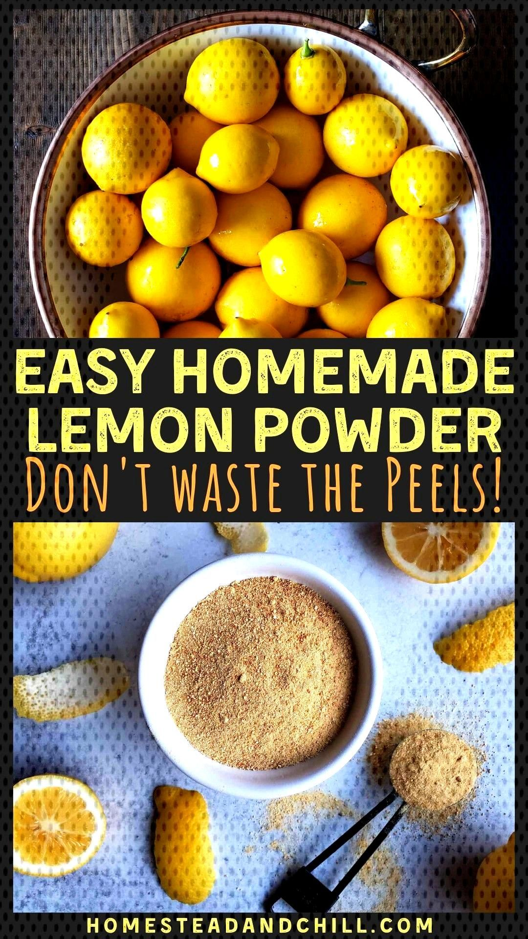 How to Make & Use Lemon Peel Powder ,  How to Make & Use Lemon Peel Powder ,