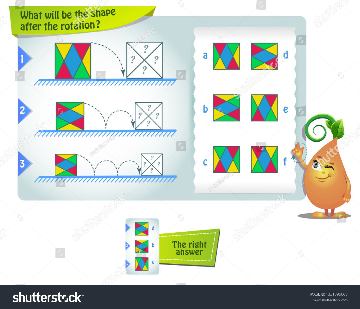 Educational Game For Kids And Adults Development Of Mental