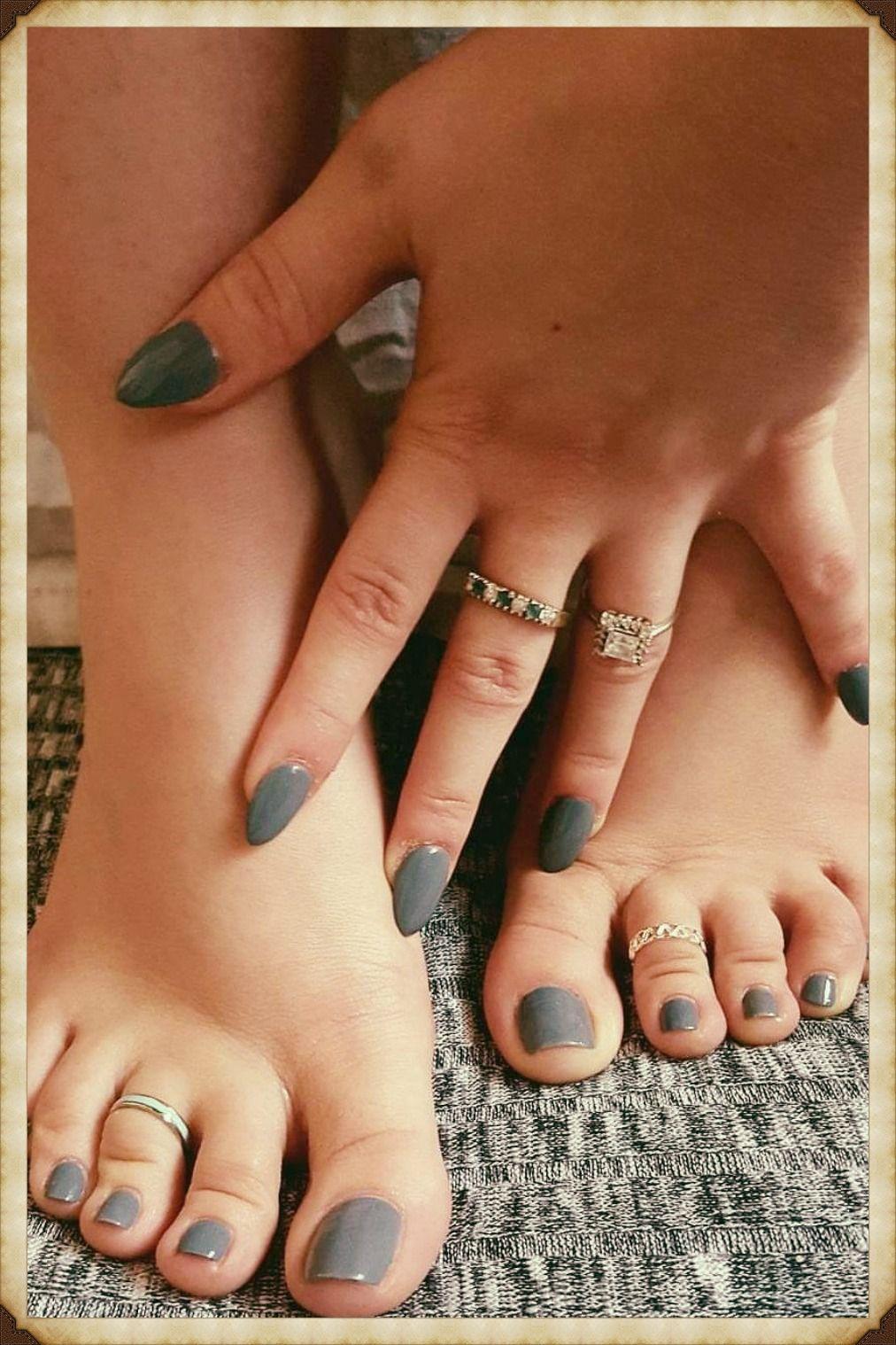 @foreverJ💜. | Acrylic toe nails, Gel toe nails, Acrylic toes