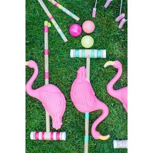 (1) Flamingo Croquet | Parties | Pinterest | Flamingos, Yard Games and Yards