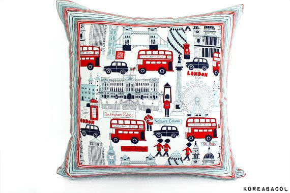 Pillow Pillow cover Decorative pillow cushion 20x20  by KoreaBacol