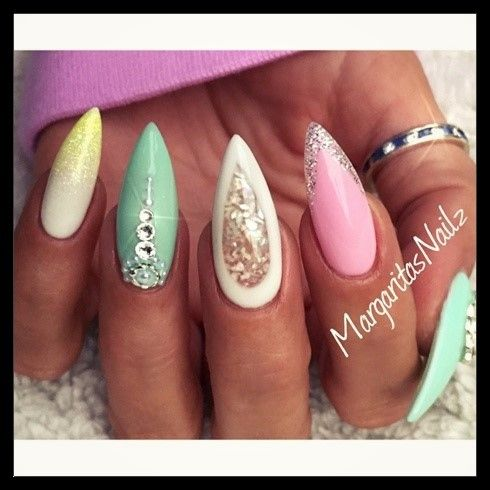 Spring/Summer Nail Art Designs