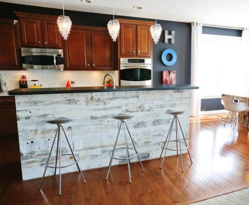 Perfect 15 Reclaimed Wood Kitchen Island Ideas   Rilane
