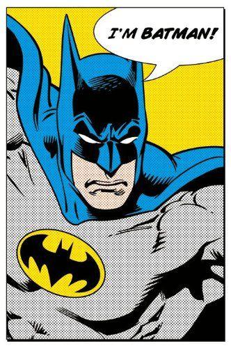 Batman Dc Comics Poster Pop Art I M Batman Size 24 X 36 Posterstoponline Http Www Amazon Com Dp B00cs4rxry R Batman Poster Batman Batman Tegninger