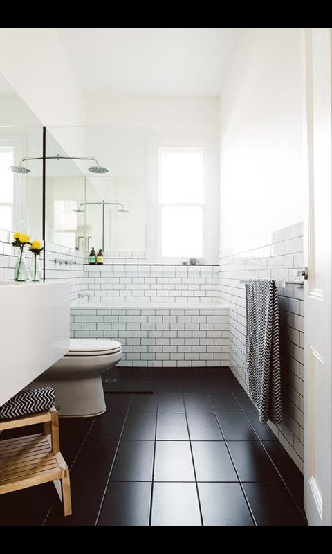 Clean lines Black floor Attic remodel Pinterest Architecture