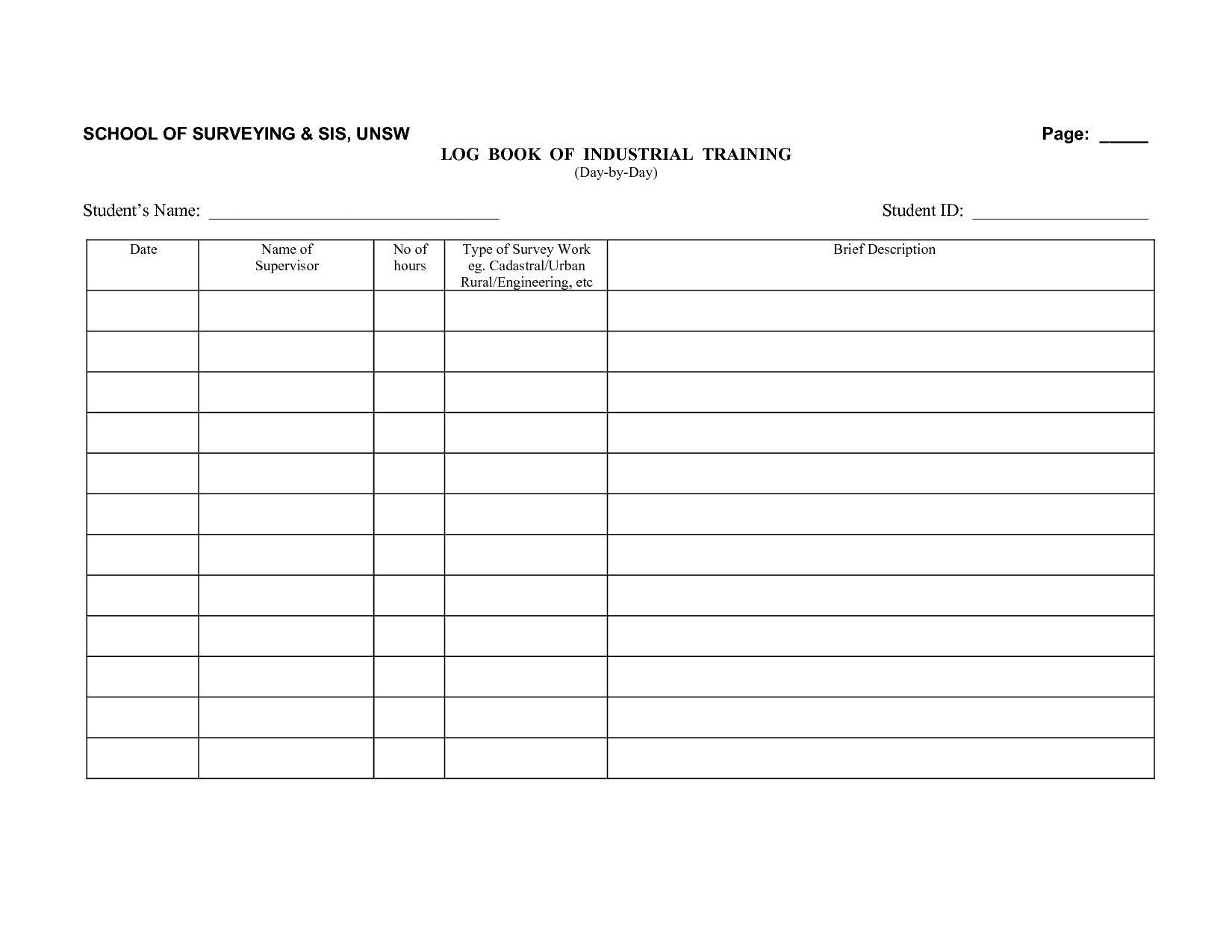 Driver Log Book Template Driver Log Book Template Driver Log Book Template Good Business Logbook Template Kharazmii Book Template Travel Log Book Templates