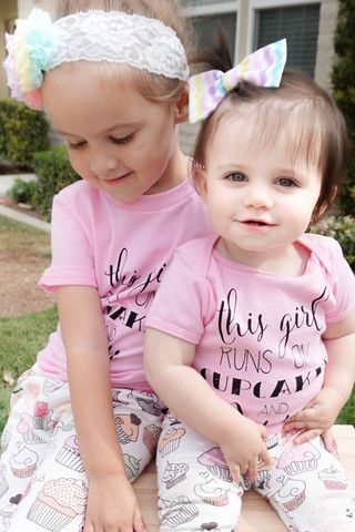 CUPCAKES+JESUS COLLAB 3 months to 6 years Leggings and Tee – TTandTWINS123