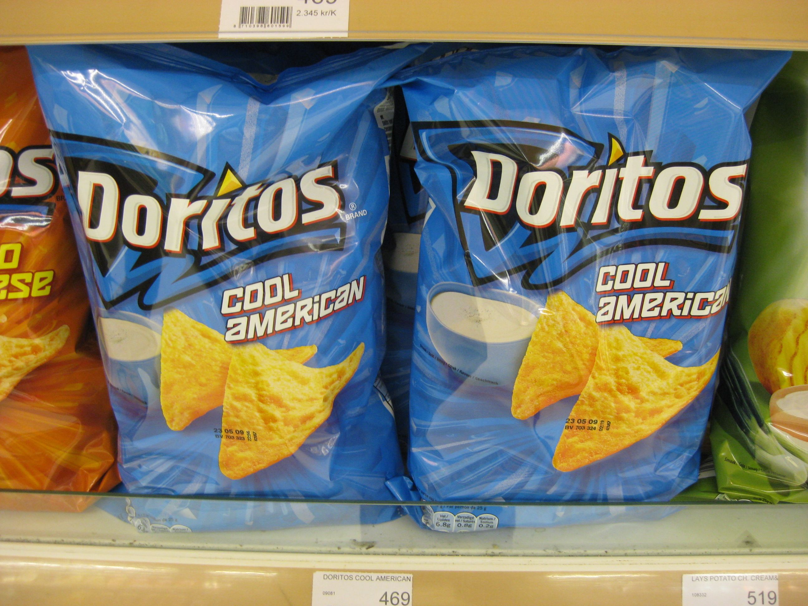 8ea8fa75812eb61991cc0ab3265d0284 in eurpoe, 'cool ranch' doritos are called 'cool american' what