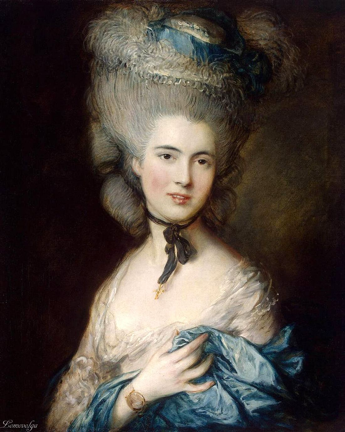 Thomas Gainsborough (1727–1788)  Woman in Blue
