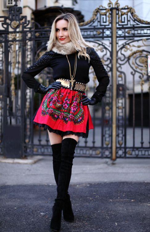 21f45ea031c fashion-boots  Fashion blogger Sylvia Postolatieva wearing Casadei thigh  high bootsSource  postolatieva - happy day woman