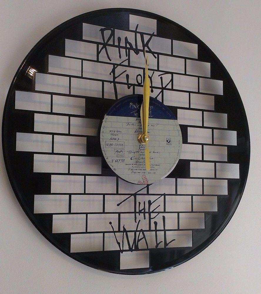 Pink Floyd-Wall Art Vinyl Record Clock - Home Decor | carton ...