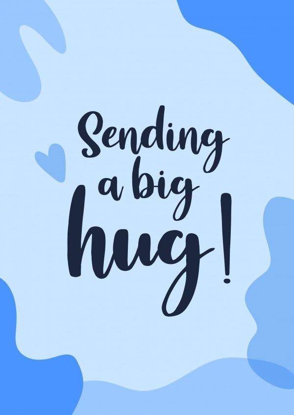 Sending a big hug! | Encouragement Cards & Quotes