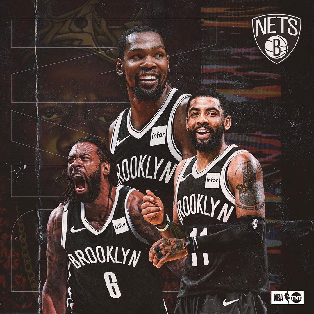 Nba On Tnt On Instagram Brooklyn S Finest Brooklynnets Kyrieirving Deandrejordan Nba Basketball Art Nba Best Nba Players